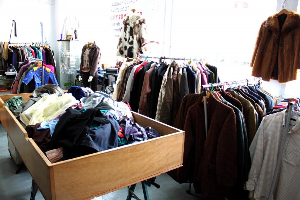 Centro de recogida de ropa madrid